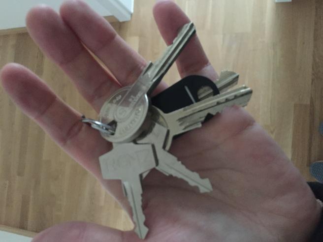 Wohnungsschlüssel, Schlüssel, Wohnung, Alleine wohnen